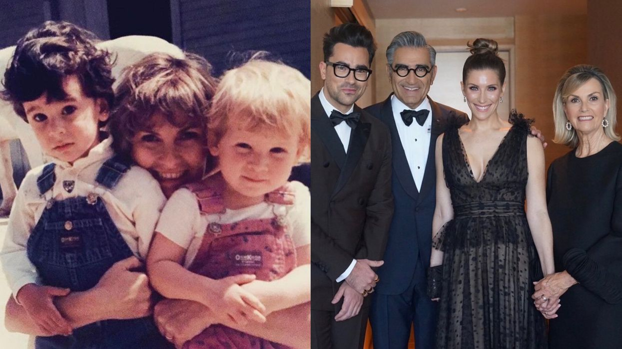 Dan Levy's Mom Has 'Just 7 Words' To Say To The Kids That Used To Bully Him