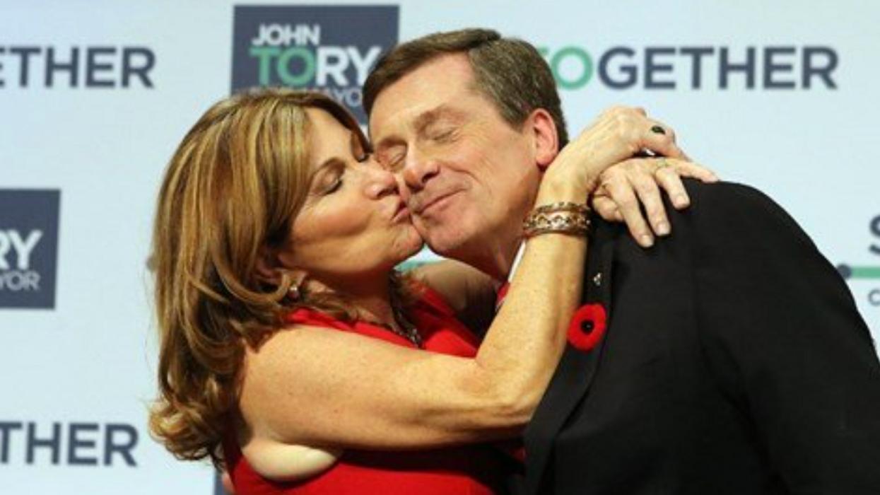 John Tory & Barbara Hackett