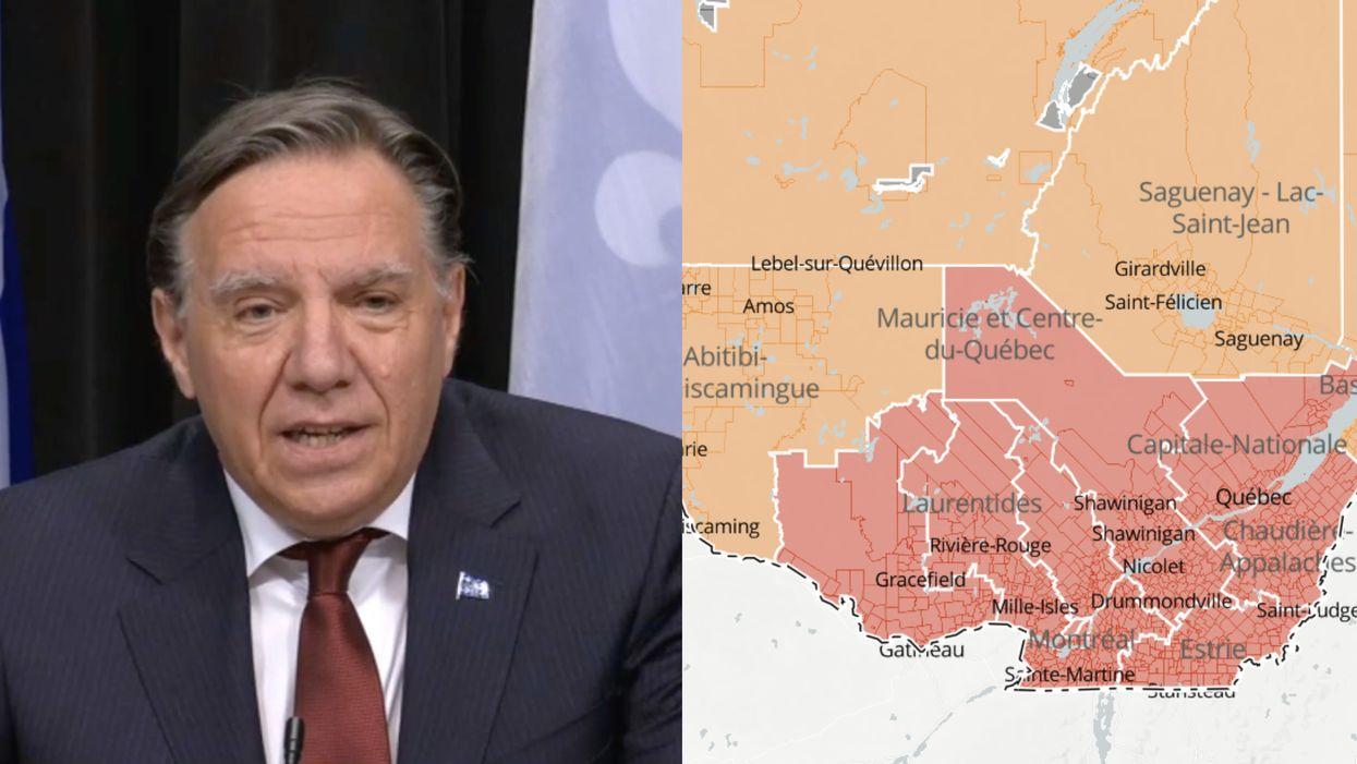 Zone orange au Québec : L'Outaouais change de palier dès le 22 février prochain