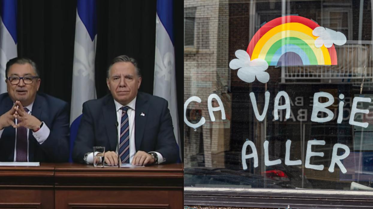 9 phrases qu'on disait en mars 2020 à propos de la COVID-19 au Québec