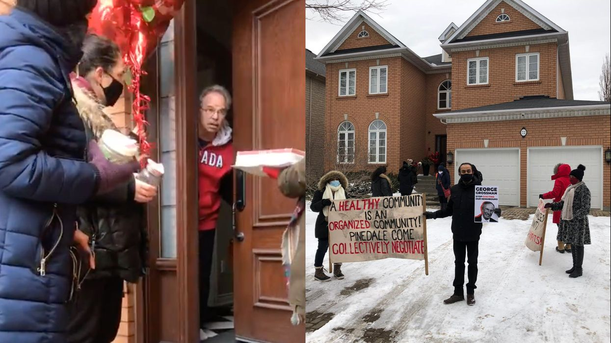 Toronto Tenants Made A Cockroach Delivery To Protest Building Conditions (VIDEO)
