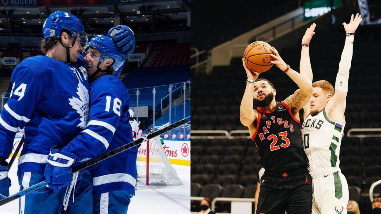 Toronto Erupts After Leafs & Raptors Double Win On The Same Night