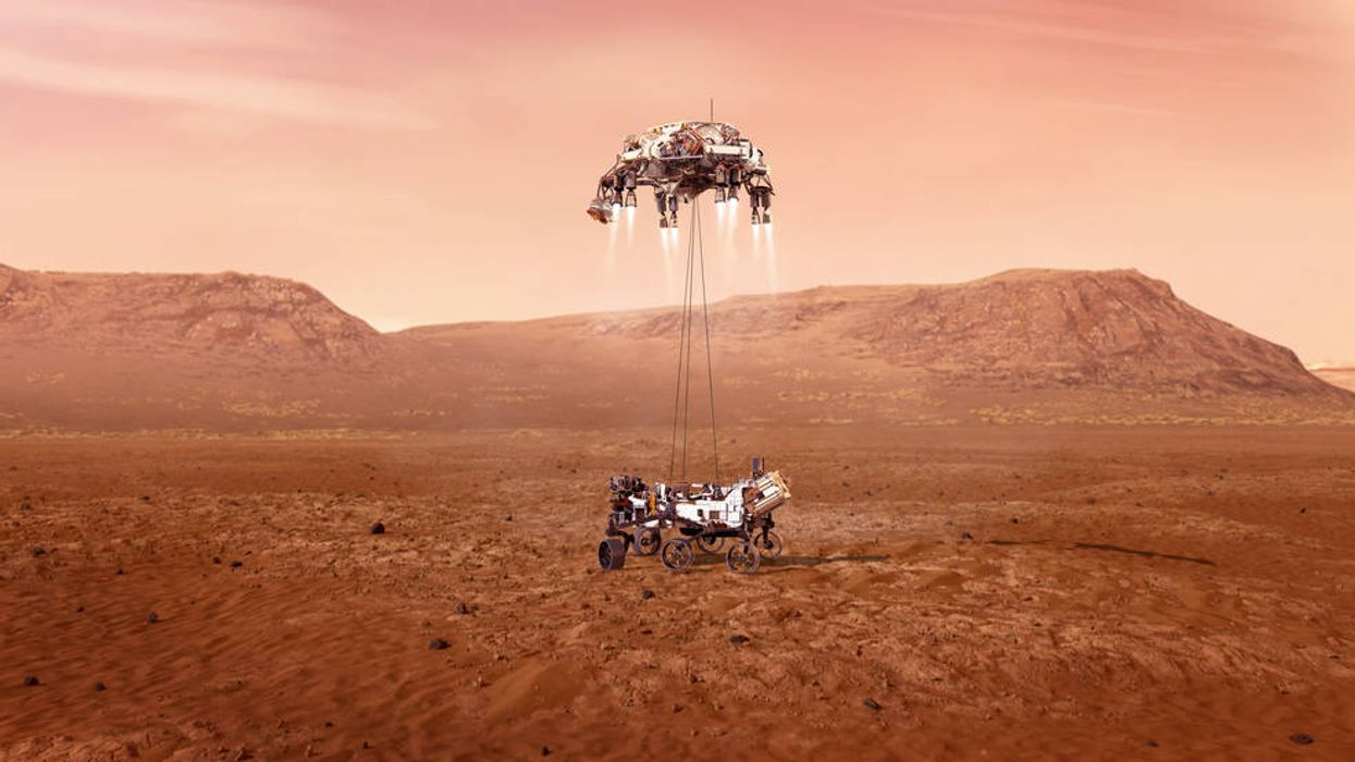 NASA Perseverance Rover Mars Landing Seven Minutes Of Terror