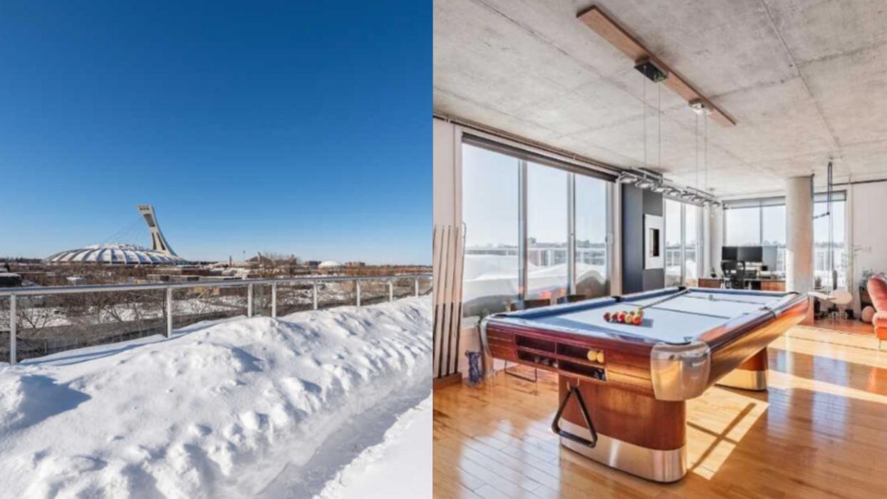 Ce condo de 1,2M$ à Montréal a un balcon plus gros que ton appartement (PHOTOS)