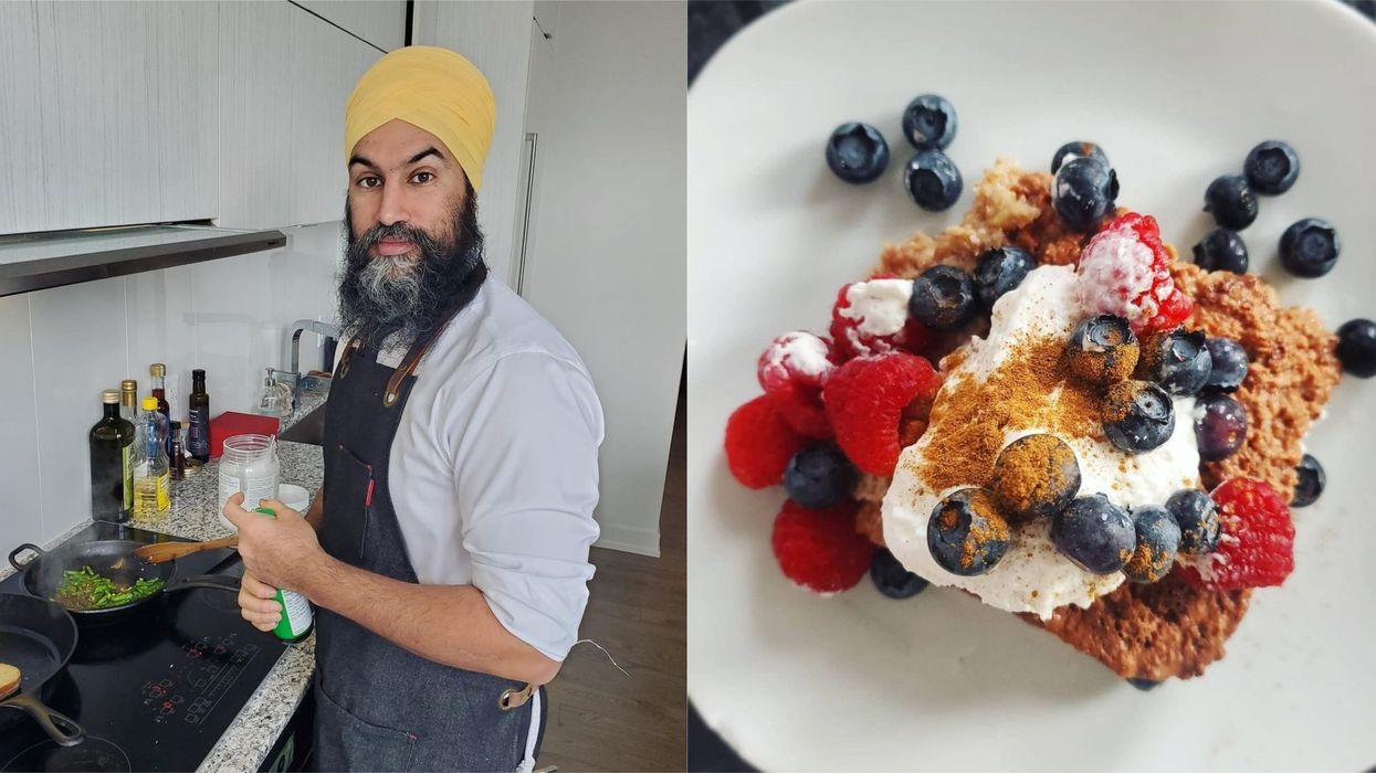Jagmeet Singh & Gurkiran Kaur's Home-Cooked Meals Pics Look Delicious