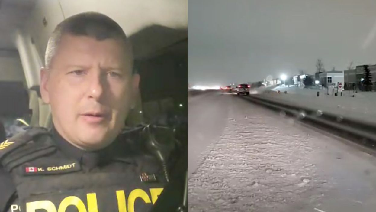 Ontario Drivers Warned After 100 Crashes Reported In The GTA Today