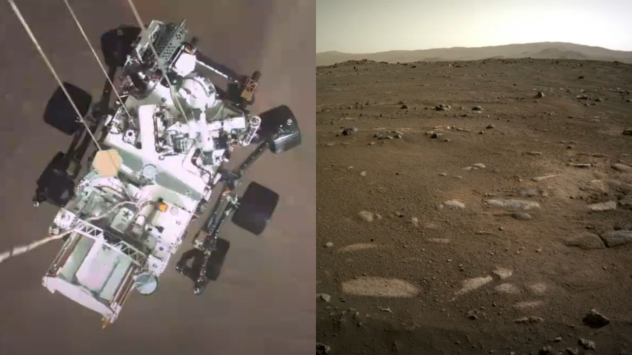 NASA Just Released Incredible New Footage Of The Mars Rover's Daring Landing