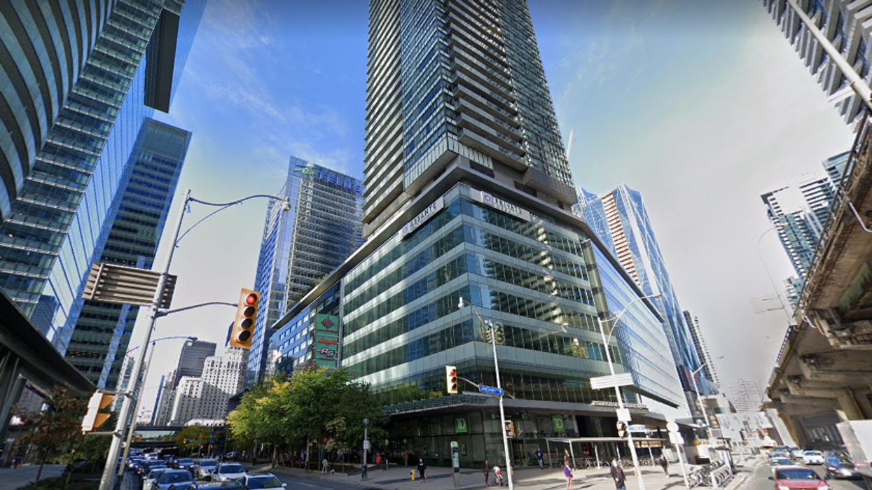 Group Charged For Allegedly Throwing Bottles Off High-Rise Toronto Balcony During Party