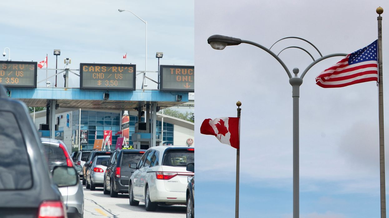 Canada-US Border: You Can Actually Cross The Land Border With A Positive COVID-19 Test