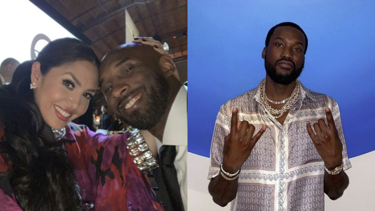 Vanessa Bryant Just Called Out Meek Mill For 'Insensitive' Lyrics About Kobe