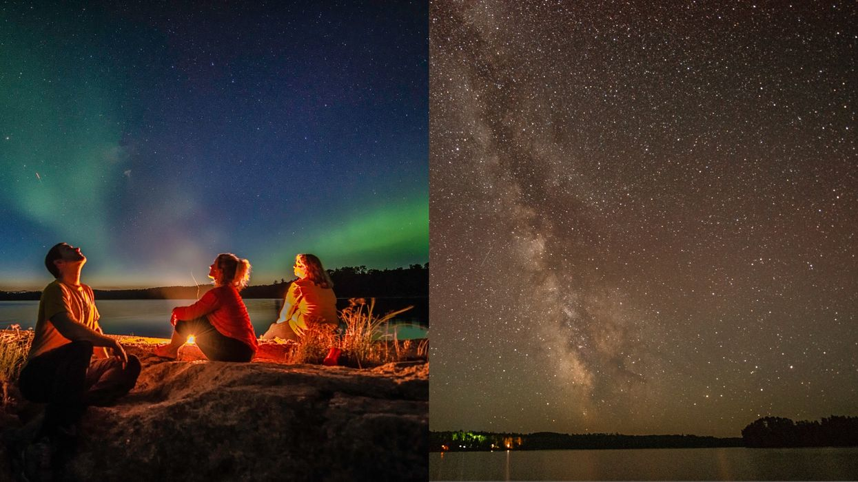 An Ontario Provincial Park Is Now Light-Free So You Can Gaze Into An Endless Starry Sky