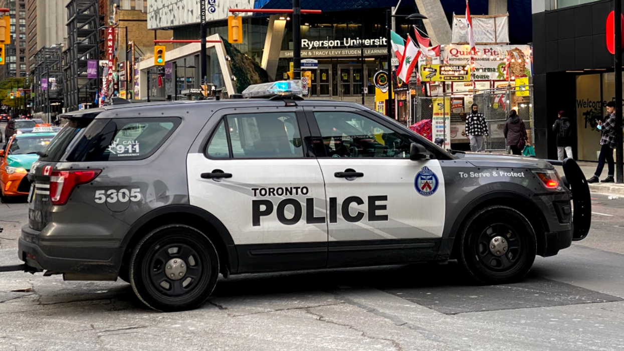 Another Person Was Apparently Throwing Stuff From A Toronto Building Last Night