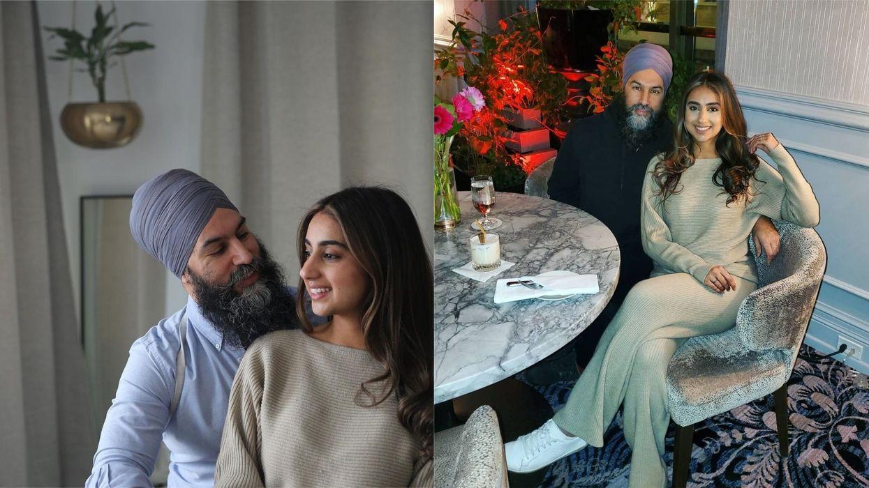 Jagmeet Singh & Gurkiran Kaur's Anniversary Posts Are The Sweetest