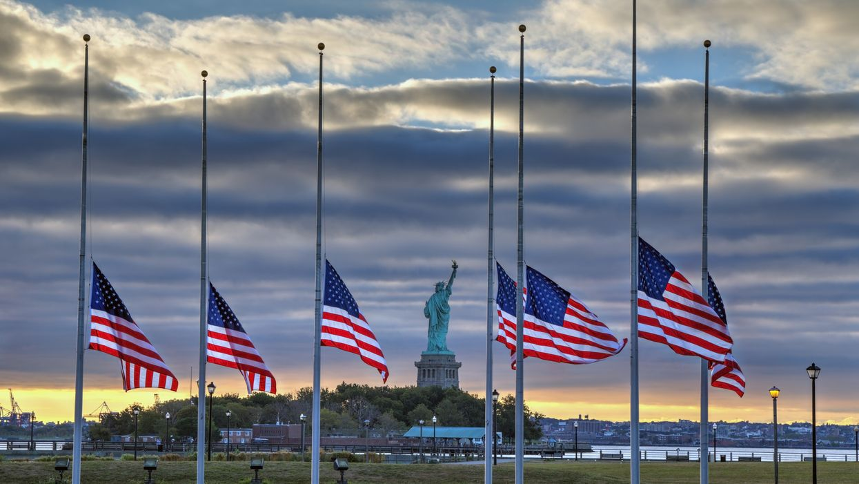 Here's Why Every US Flag Will Be Flying At Half-Staff All Week