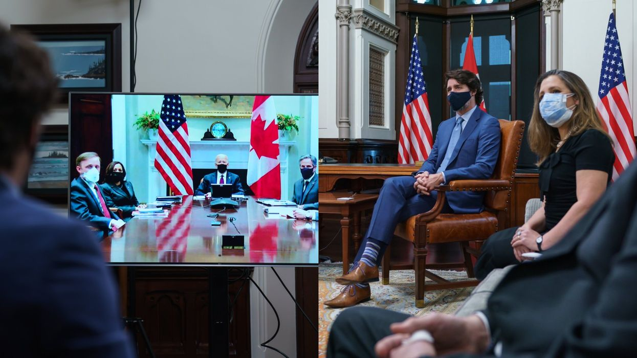 Justin Trudeau And Joe Biden Had A Meeting Today & Had Plenty Of Nice Words For Each Other