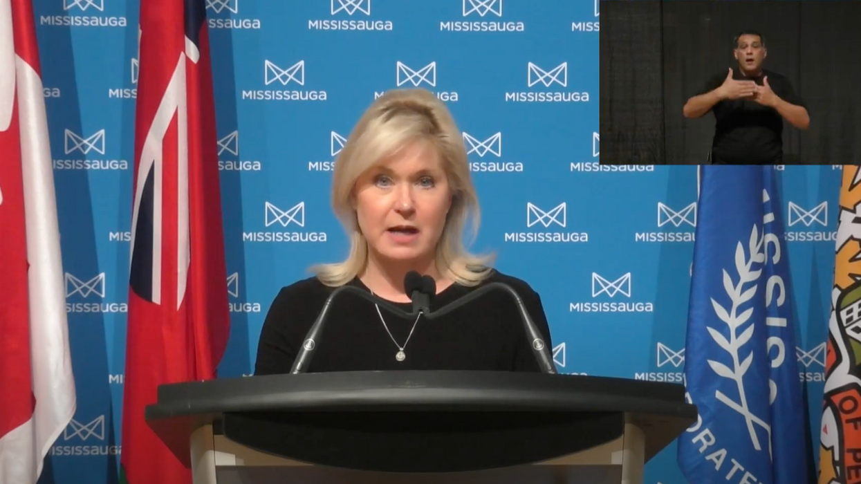 Mississauga's Mayor Is Determined To Get The City Into The Red Zone On March 9