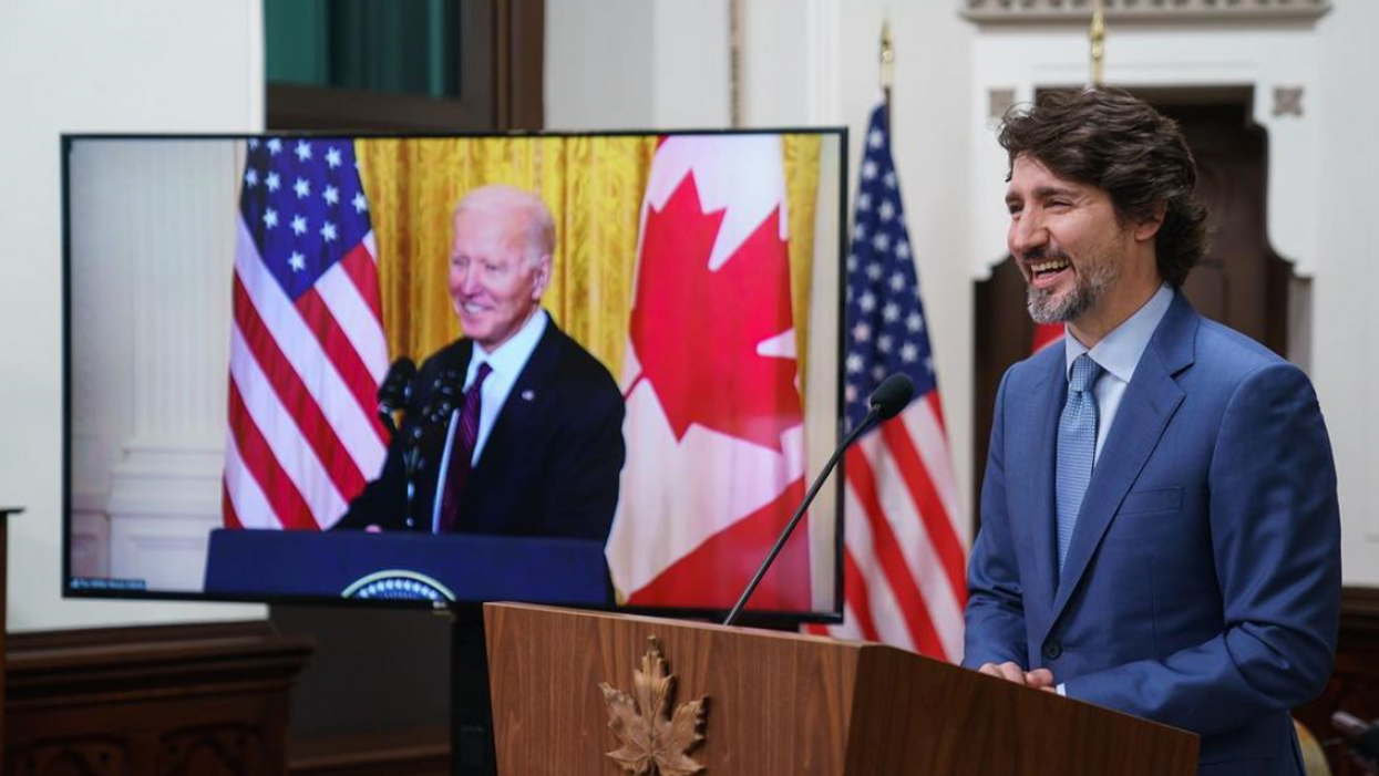 Justin Trudeau & Joe Biden Have Been Friends For A While & This White House Meme Proves It
