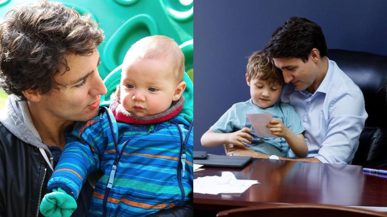 Hadrien Trudeau Just Turned 7 & The PM Shared The Sweetest Photos To Celebrate