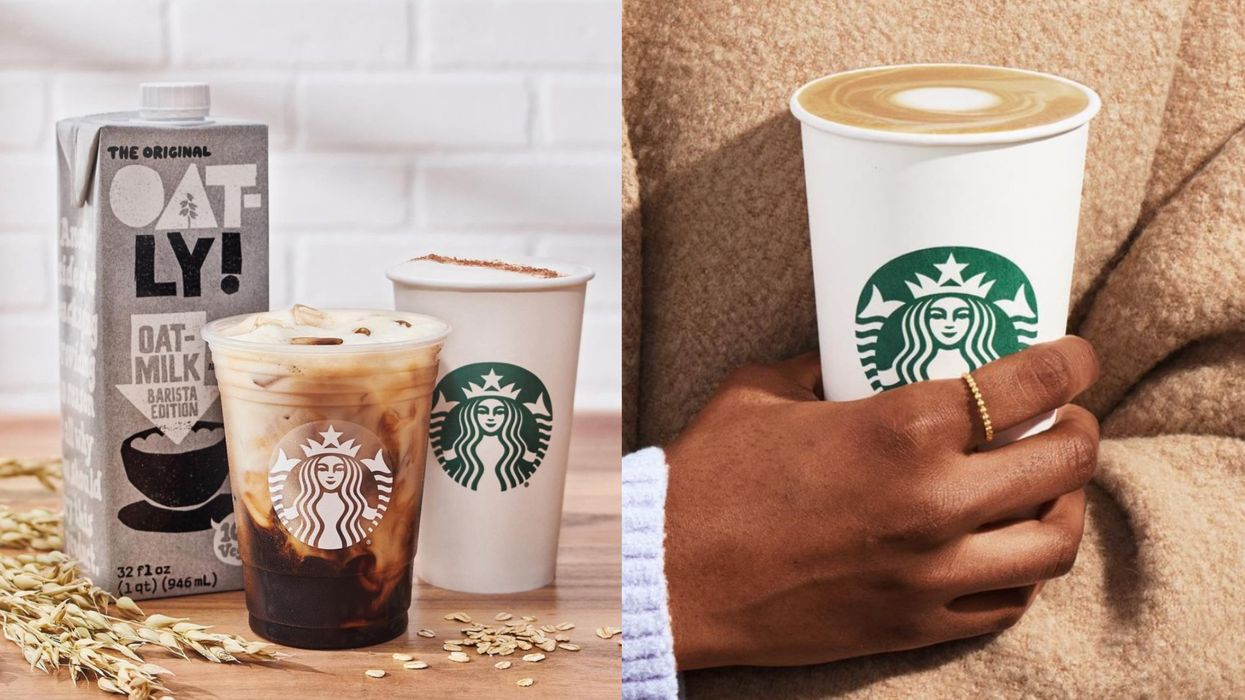 Starbucks Canada Spring Menu Just Dropped & There Are 3 New Coffees To Try