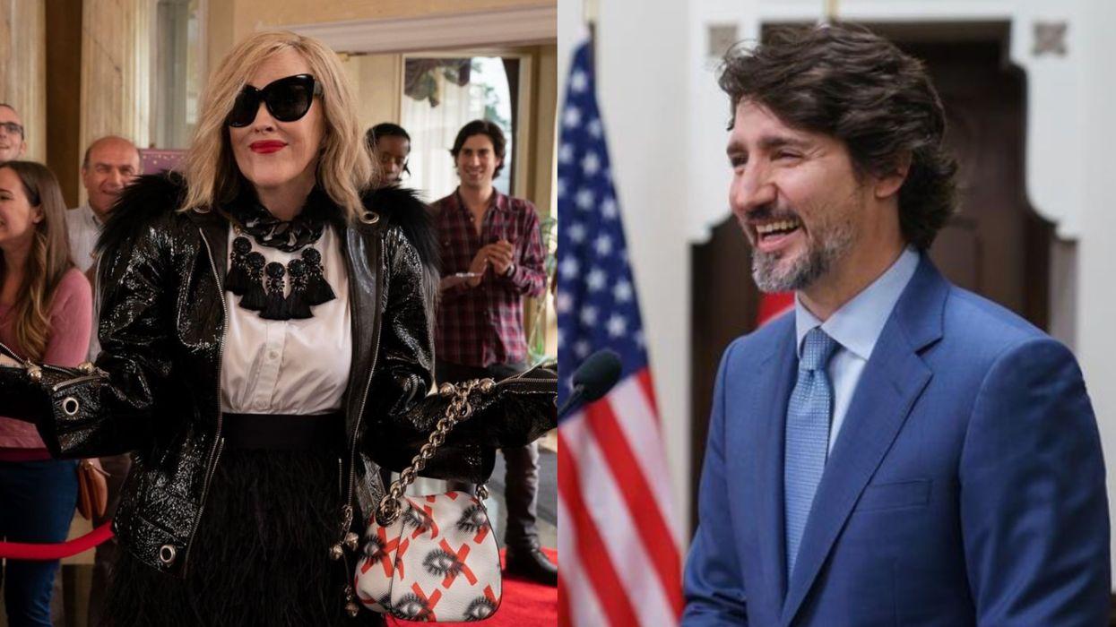 Moira Rose Got A Shout-Out From Justin Trudeau After 'Schitt's Creek' Won Even More Awards