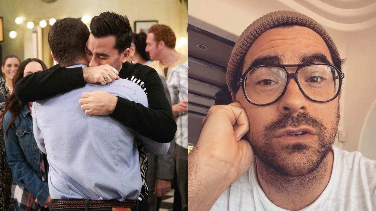 Dan Levy's Powerful Golden Globes Speech Called For More Diversity In The Ceremony
