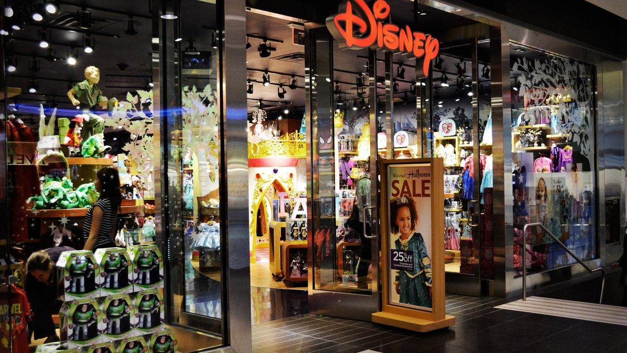 Disney Is Shutting Down So Many Stores This Year & Moving Online