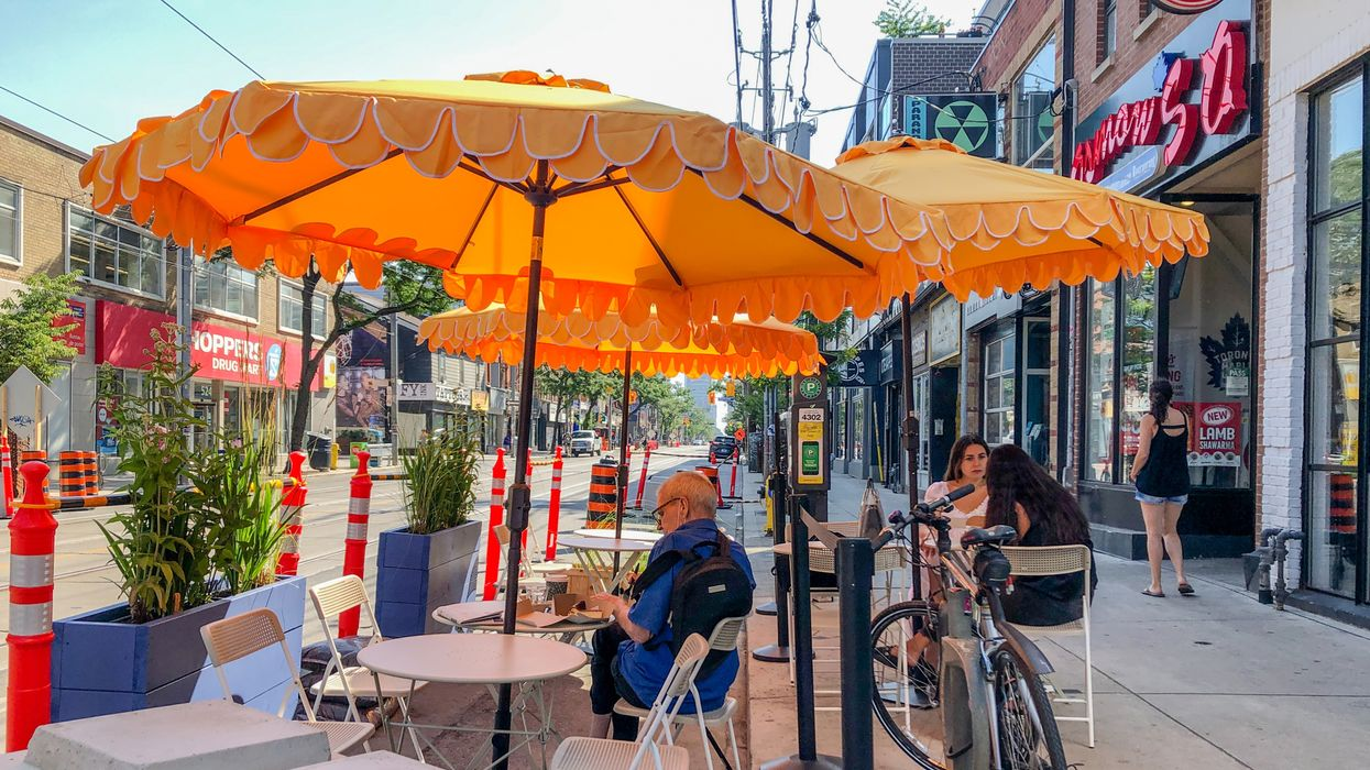 Curbside Cafes In Toronto Are Coming Back But They'll Look Different