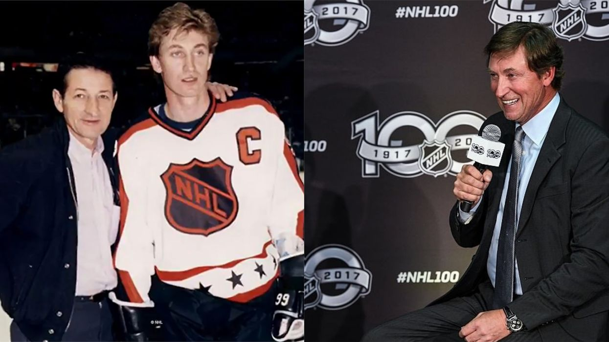 Wayne Gretzky's Dad Walter Has Died & He Paid Tribute To His Pops