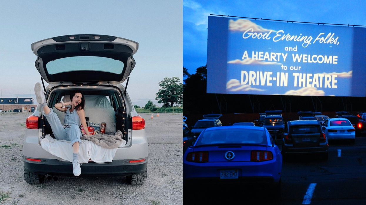 Drive-Ins Around Toronto Are Showing Movies Beneath The Stars This Weekend