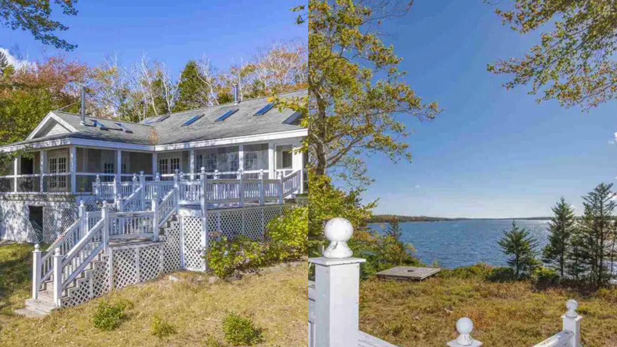 Private Island Home For Sale In Nova Scotia Is A Mini Paradise & Costs Just $500K
