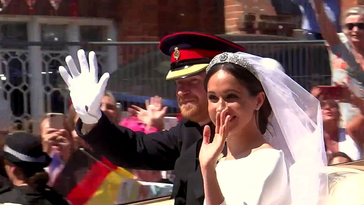 Harry & Meghan Markle's Wedding Was Actually A Private Ceremony 3 Days Before The Big Day