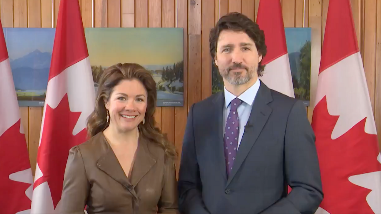 Justin & Sophie Grégoire Trudeau Say They're 'Not Afraid' To Be Feminists (VIDEO)