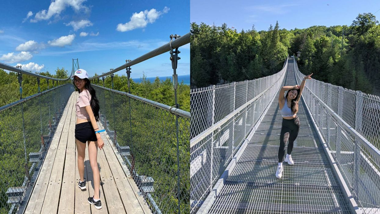7 Ontario Scenic Bridges Where You Can Walk In The Sky