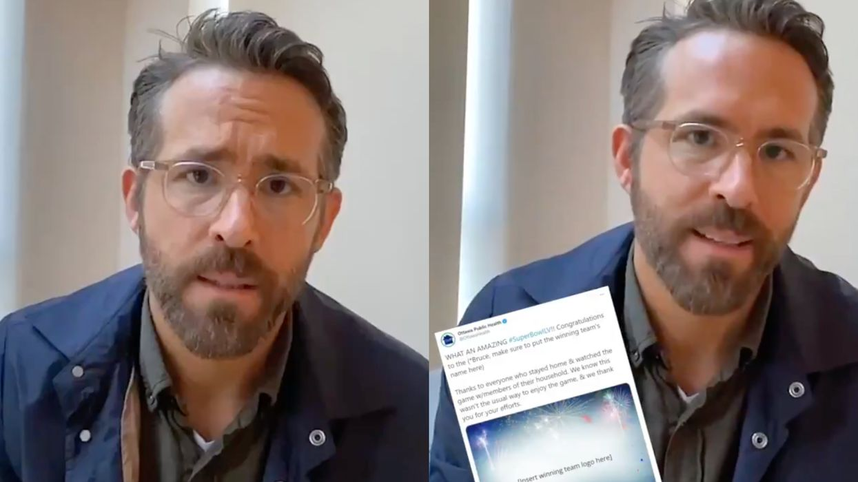 Ryan Reynolds Just Took The Blame For Ottawa Public Health's Epic Twitter Fail (VIDEO)