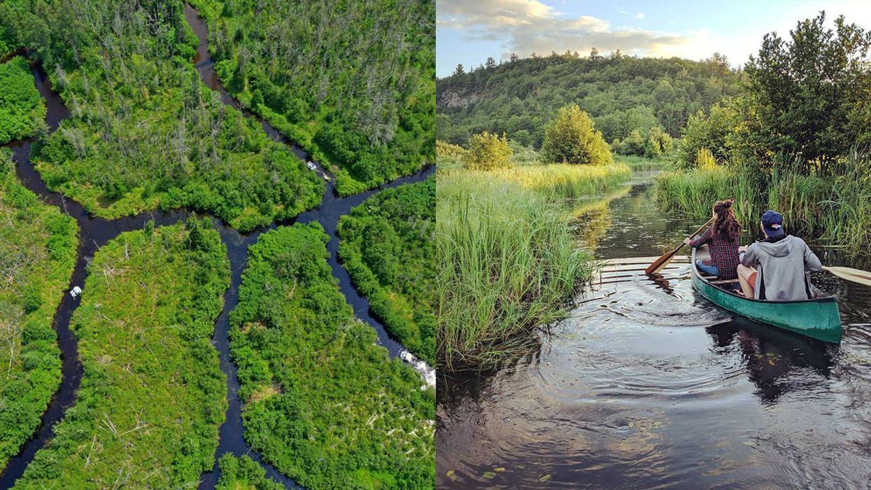 This Secret Water Maze Near Ottawa Is 6-km Of Pure Fun