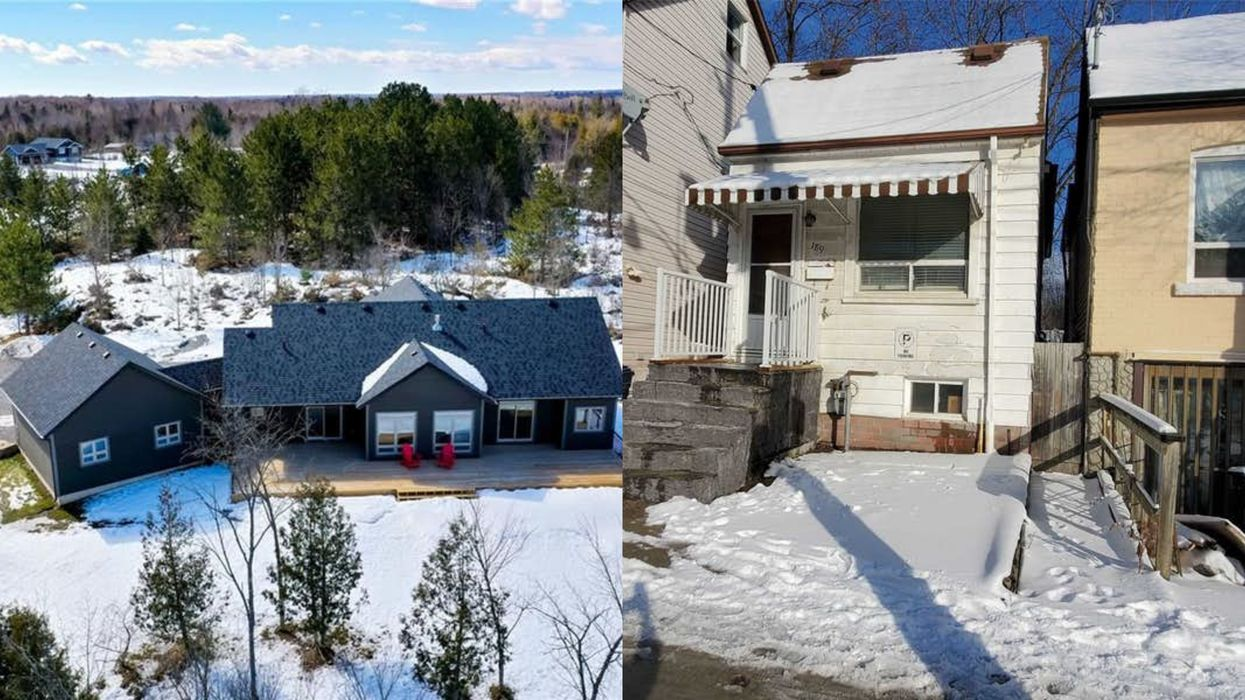 Massive Ontario Home Is Nearly The Same Price As Tiny Toronto Bungalow