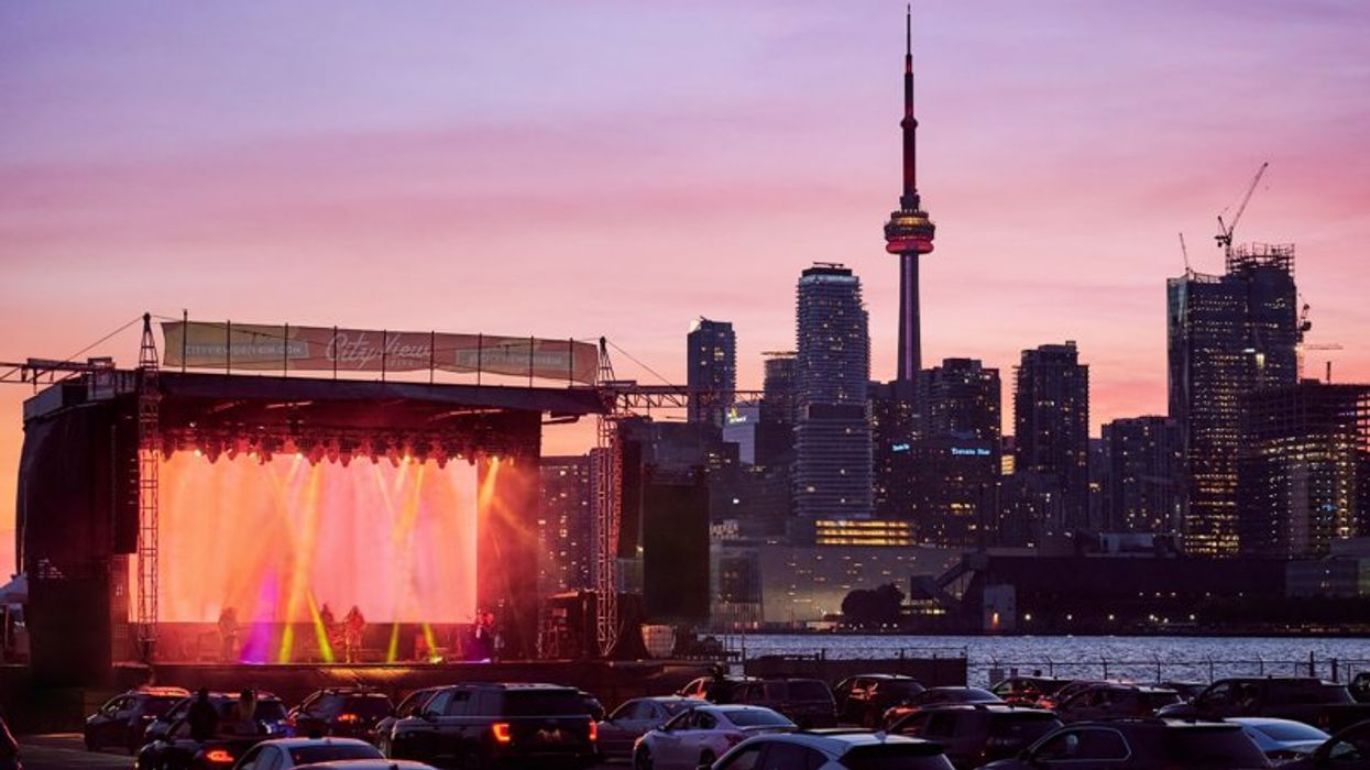 Toronto's Waterfront Drive-In Is Reopening For Movies & Concerts Beneath The Stars