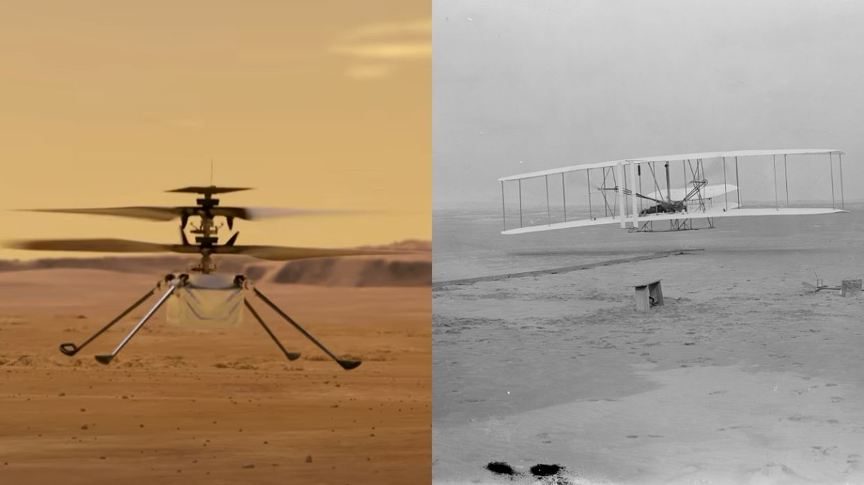 NASA's Mars Helicopter Is Carrying A Piece Of American History On Its Upcoming Flight