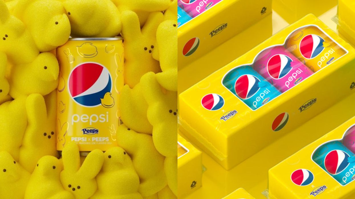 A Marshmallow Peeps Flavored Pepsi Is Coming To Help Kick Off Spring 2021