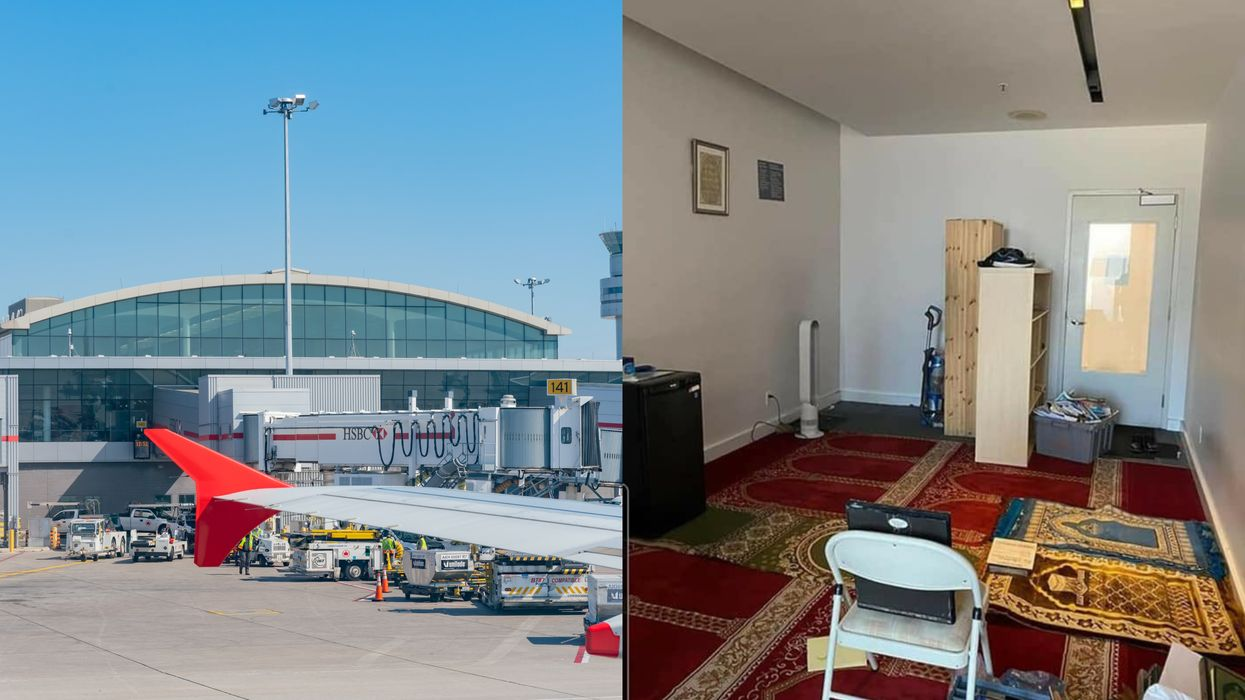 Pearson Airport Multi-Faith Room Vandalism Is Being Looked At As An Anti-Muslim Hate Crime