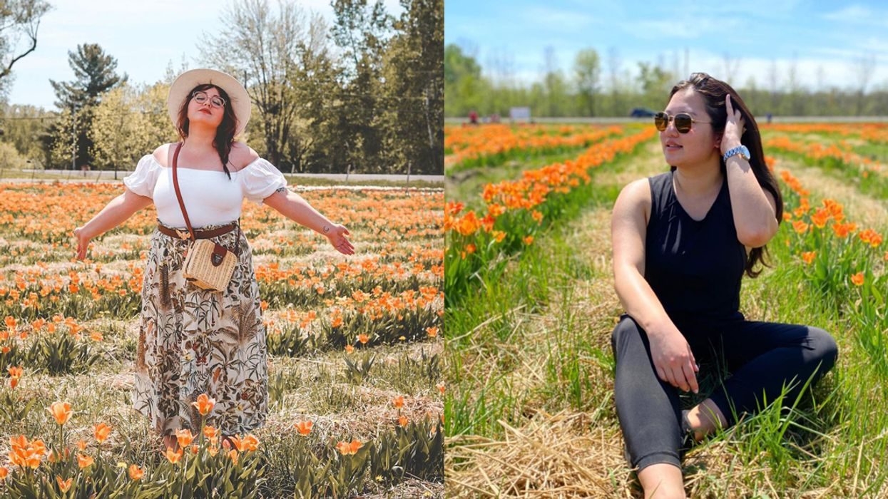 This Ottawa Flower Farm Has A Pick-Your-Own Tulip Garden