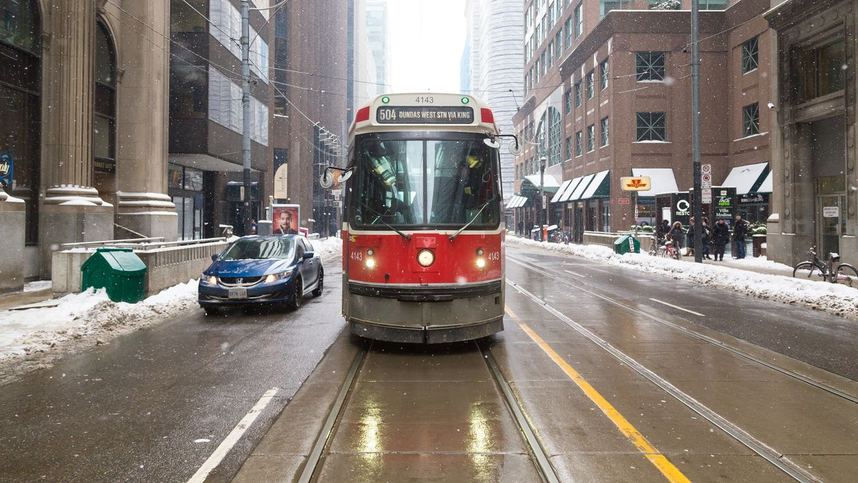 Toronto's Weather Forecast Is Predicting Snow & Chilly Temperatures