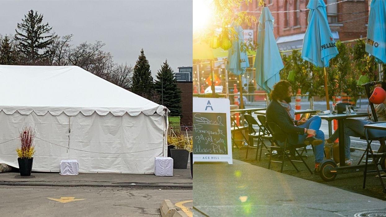 Outdoor Dining In Ontario Isn't Outdoors When In A Tent Says Doc