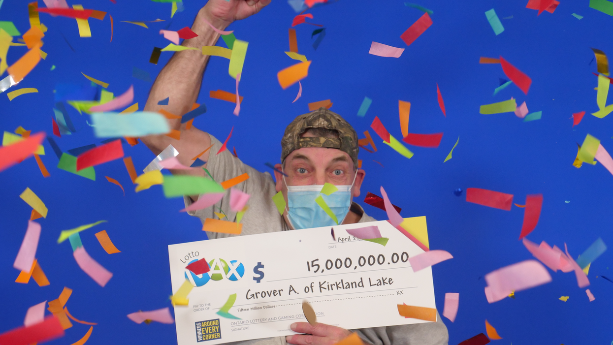 An Ontario Man Just Won $15M & Is Using The Money To Finally Retire