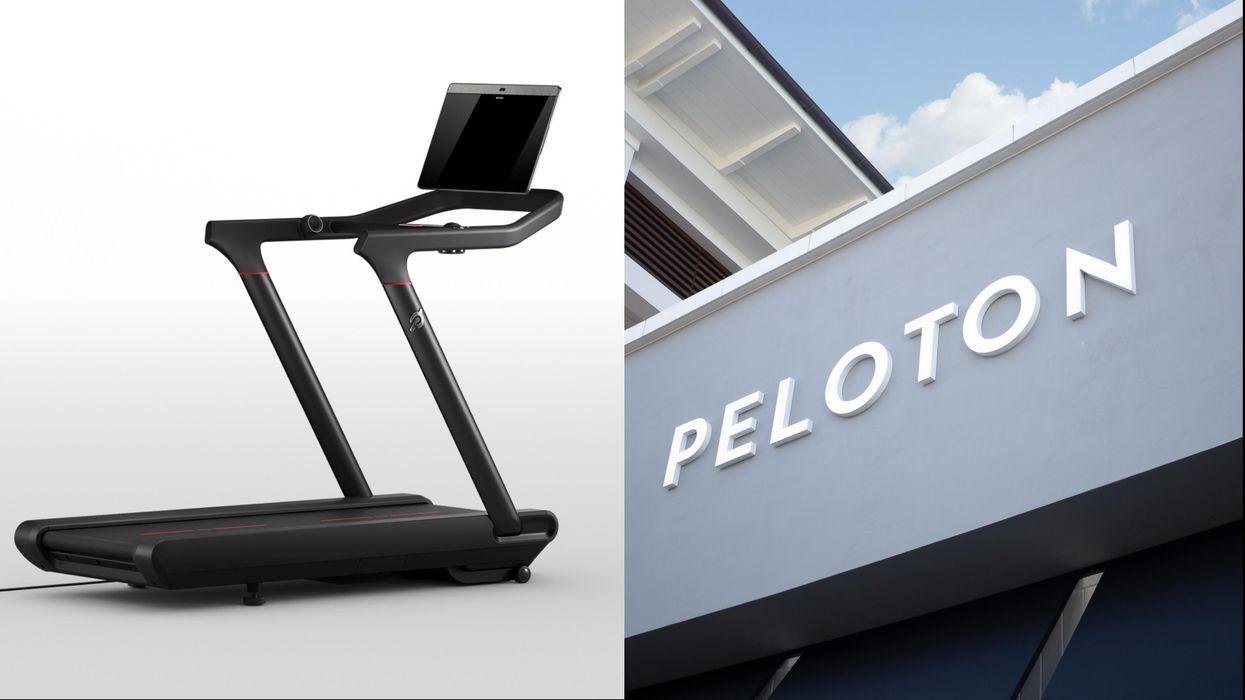 Photos of Peloton Tread and Peloton Store Front