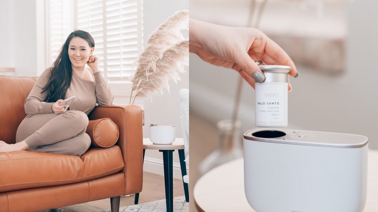 This Smart Diffuser Will Boost Your Mood & Refresh Your Home All At The Same Time