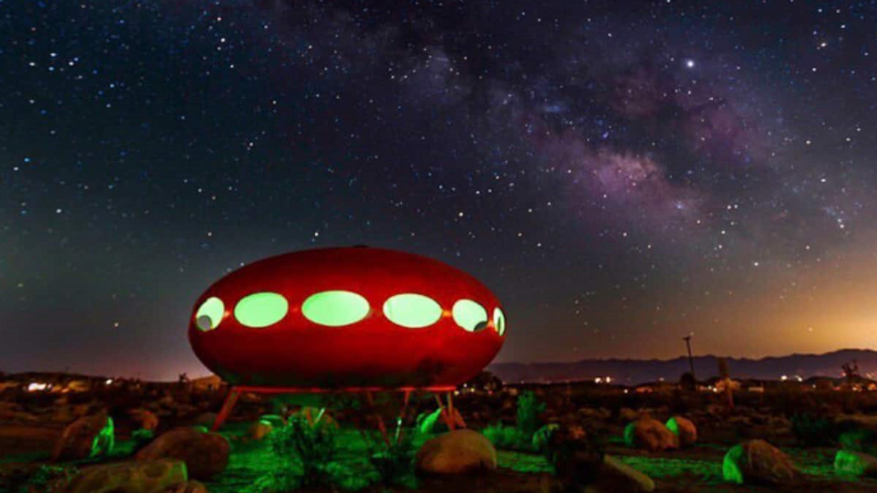 This Out-Of-This-World UFO House Is One Of The Best Glamping Spots In California