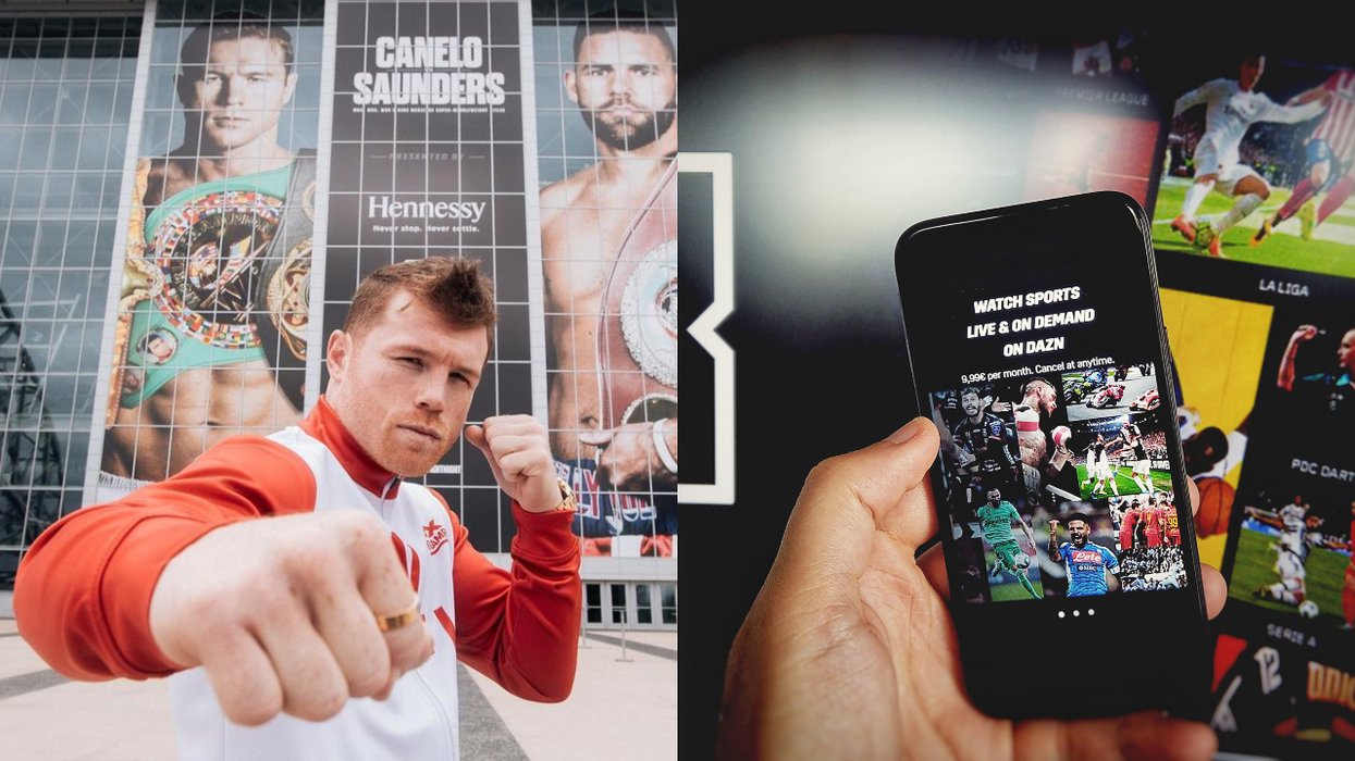 Here's How You Can Watch The Canelo Vs. Saunders Fight This Weekend For Free In Canada