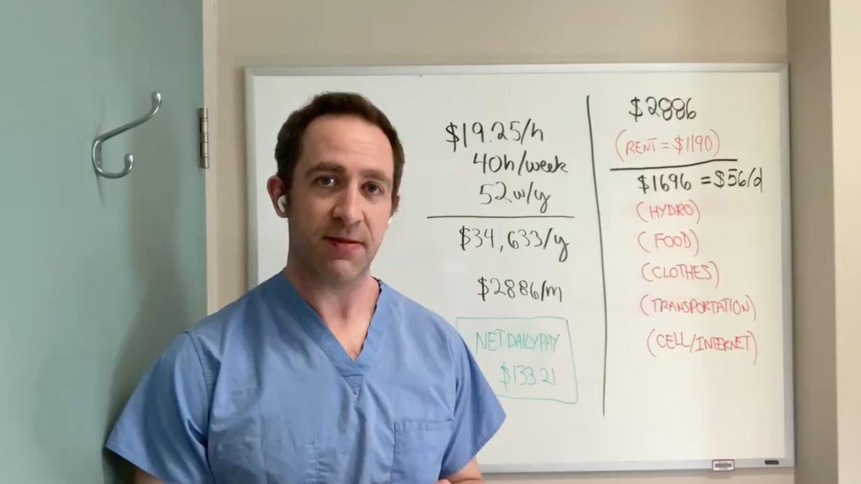 Toronto ICU Doctor Says His Story About A Patient Shows Paid Sick Leave Is Critical (VIDEO)