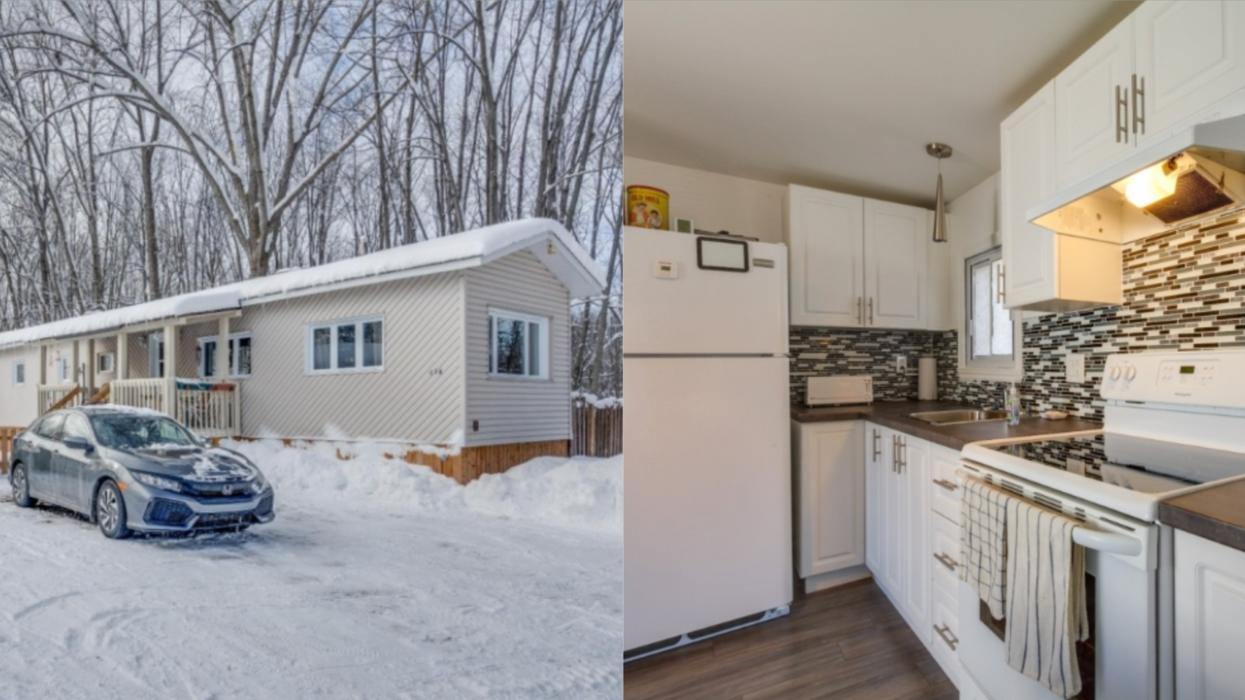 Voici 2 des maisons à vendre les moins chères à Montréal actuellement